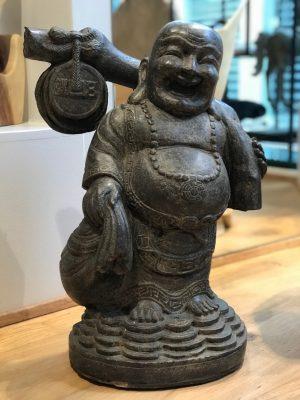 kæmpe stor buddha sten figur fra Bali