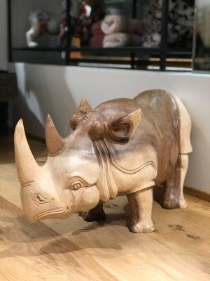 bali stor træ næsehorn