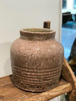by living rosa keramik krukke lille