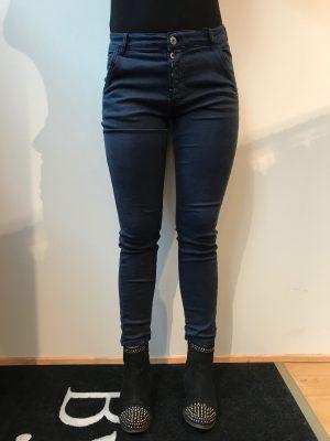 piro blå jeans med knapper 531A