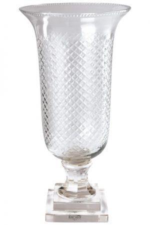 C´est Bon glas pokal i klar glas højde 36 cm