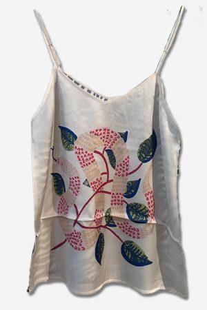 Naomi Printed Camisolle strop top med Snake print fra Me369