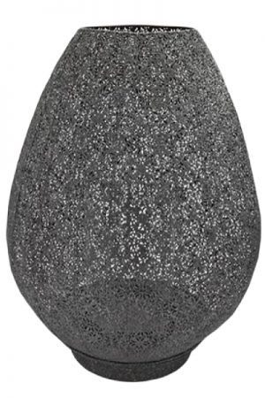 Cest bon grå metal lanterne 40 cm