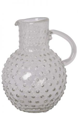 C´est Bon glaskande med bobler i klar glas
