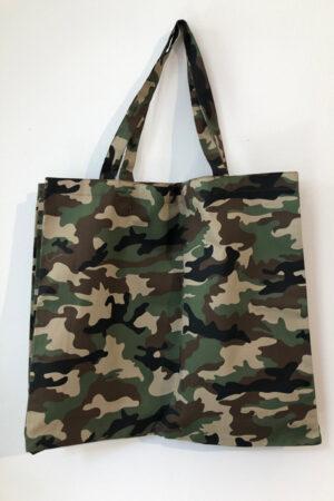 Design by Laerke camouflage shopper taske