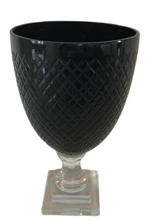 C´est bon sort glas pokal vase på fod