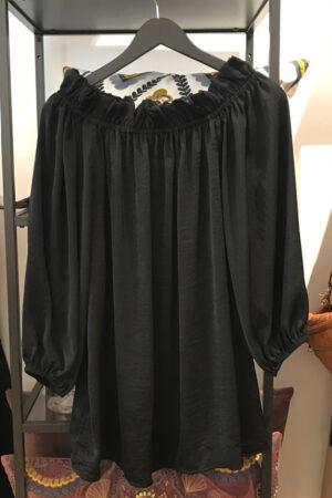 Design by Laerke sort skulder bluse