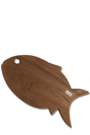 Træ skærebræt som en fisk fra Bali