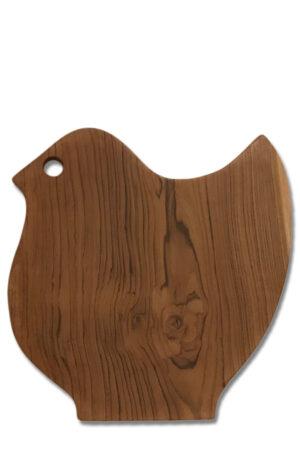 Bali håndlavet skærebræt i træ som en kylling