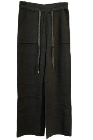 Fine Copenhagen Jini bukser i armt grøn. Med lommer og snøre i taljen