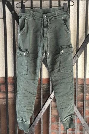 Piro army grøn jenas PB686A med lommer på lår