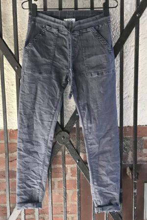 Piro grå jeans med store lommer PB681A